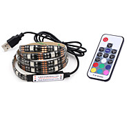 7W RGB-kontroller 500 lm Jævnstrøm5 V 2 m 60 leds RGB