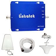 Lintratek 2G 3G Cell Phone Booster GSM 850MHz 1900MHz Dual Band Signal Booster CDMA PCS UMTS Amplifier Full Kits