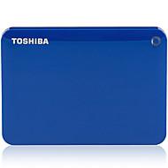東芝v8 canvio 2.5インチモバイルハードディスクusb3.0 500g青