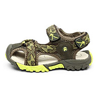 Para Meninos Sandálias Primeiros Passos Camurça Couro Ecológico Primavera Outono Casual Caminhada Primeiros Passos Velcro Salto Baixo