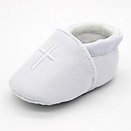 Barn Baby Flate sko Fritid Fritid/hverdag Bursdag Smuk Komfort Bomull Vår/Vinter Kryss-sesongerFest/aften Engasjement Seremoni