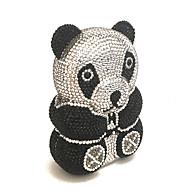 Luxury Panda Design Clutches Rhinestone for Sweet Ladies