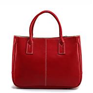 Žene Torbe na rame PU Sva doba Lenonice Patent-zatvarač Obala Blushing Pink Crvena