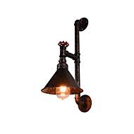 AC 220-240 4 E27 Perinteinen Rustiikki Öljyhiottu pronssi Ominaisuus for LED Lamppu sisältyy hintaan,Alavalo LED-seinävalaisimetWall