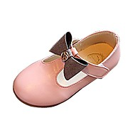 Girls' Loafers & Slip-Ons T-Strap Comfort Ballerina Flower Girl Shoes Summer Fall Outdoor Dress Casual Walking BowknotLow