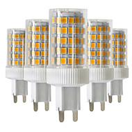 10W Двухштырьковые LED лампы T 86 SMD 2835 850-950 lm Тёплый белый Холодный белый Естественный белый Диммируемая V 5 шт.