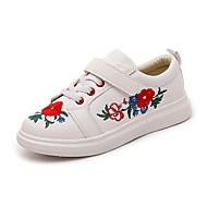 Djevojčice Sneakers Udobne cipele Mikrovlakana Ljeto Atletski Kauzalni Hodanje Udobne cipele Kopčanje na kukicu Ravna potpetica Obala Crn
