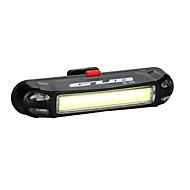 자전거 라이트 자전거 후미등 LED LED 싸이클링 야외 방수 LED 조명 USB 리튬 배터리 100 루멘 USB 블루 레드 네츄럴 화이트 사이클링