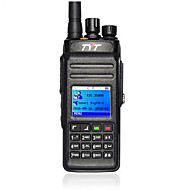 Tyt md398 10w ip67 dmr digital walkie talkie vandtæt uhf 400-470mhz bærbar radio