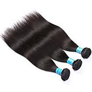 人間の髪編む ベトナミーズヘア ストレート 12ヶ月 3個 ヘア織り
