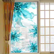 Kukat/Kasvit Ikkunatarra,PVC/Vinyl materiaali ikkuna Decoration