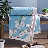 Yuxin®cotton sommar luftkonditionering quilt sommar tunn bomull kärna bred sommar coolt täcke sängkläder set