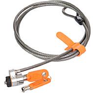 Kensington k64186 karbonstål mekanisk nøkkel låse opp laptop lås business lås program lås linje lengde 1,8m dail lock passord lås