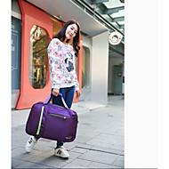 Damen Reisetasche Polyester Ganzjährig Normal Reißverschluss Purpur Fuchsia Himmelblau