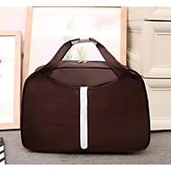 Unisex putna torba Oxford platno poliester svih sezona casual vanjski okrugli zatvarač ametist kava crvena