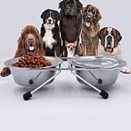 Katze Hund Schalen & Wasser Flaschen Haustiere Schüsseln & FütternWasserdicht Regolabile/Einziehbar Tragbar Doppel-seitig Klappbar