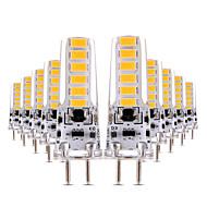 4W LED betűzős izzók T 12 SMD 5730 300-400 lm Meleg fehér Hideg fehér Tompítható Dekoratív AC 12 V 10 db.