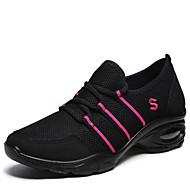 Kadın Dans Sneakerları Sentetik Spor Ayakkabı Dış Mekan Düşük Topuk Gri Siyah/Kırmızı 2,5 - 3,6 cm