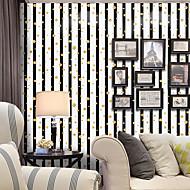 ストライプ アールデコ調 水玉柄 ホームのための壁紙 現代風 ウォールカバーリング , PVC /ビニール 材料 自粘型 壁紙 , ルームWallcovering