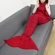 1pç Cobertor de Emergência Mantas Casual para Casual Náilon Chinês-Roxo Vermelho Verde Rosa claro Azul Claro