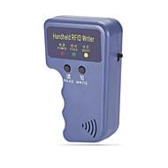 Reprodutor de replicador de placas de identificação de acesso 125khz rfid de mão com chaveiro 3 com 3 ID Cards