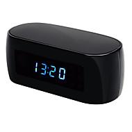 1.3 mpナイトビジョンワイヤレスWifi電子時計カメラIPリモート監視p2p CCTVの家のセキュリティのためのカム
