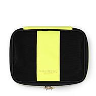 Damen Aufbewahrungstasche Andere Lederart Ganzjährig Normal Baguette Bag Reißverschluss Gelb