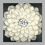 El-Boyalı Çiçek/Botanik Sanatsal Tek Panelli Kanvas Hang-Boyalı Yağlıboya Resim For Ev dekorasyonu