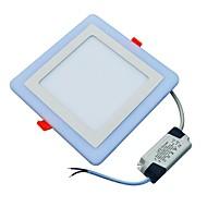 Luminária de Painel Branco Frio Azul LED 1 pç