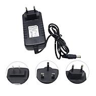 Hkv® dc 12v naar ac 110-240v 3a nl plug ons plug eu stekker voeding verlichting transformator converter switch lader adapter voor led