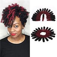 Brillant & Séduisant Mariage Européen Style européen Pré-boucle Tresses crochet Extensions de cheveux Kanekalon Cheveux Tressée