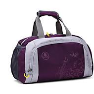 Uniseksna putna torba Oxford tkanina svih sezona casual outdoor okrugli patent zatvarač fuksija ljubičasta crna plava