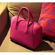 Women Bags All Seasons PU Shoulder Bag with for Casual Outdoor Blue Black Fuchsia
