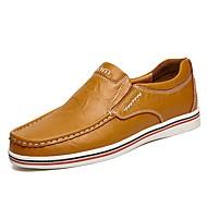 Homme Chaussures Cuir Eté Automne Confort Mocassins et Chaussons+D6148 Combinaison Pour Décontracté Noir Bleu de minuit Marron