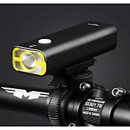 Suporte Luzes de Bicicleta XP-G2 Ciclismo Luz LED Redução de Intensidade USB 400 Lumens USB Branco Quente Ciclismo