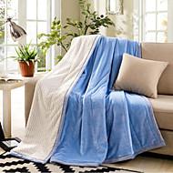 Flanela Sólido Outro cobertores