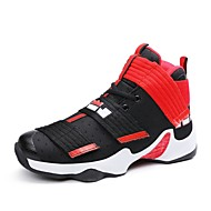 Homme Chaussures d'Athlétisme Confort Tissu Eté Automne Athlétique Basketball Scotch Magique Talon PlatBleu de minuit Gris Noir et Or