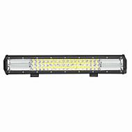 270w 27000lm 6000k led white combo 3-рядный рабочий свет для автомобиля / лодки / фары 9v-32v