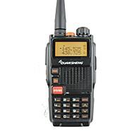 quansheng tg-k4at(uv)デュアルバンド双方向ラジオ5w 128ch fmポータブル双方向cbハムラジオquanshengトランシーバートーキー
