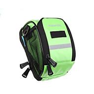 Bike Bag 1.8LBike Handlebar Bag Reflective Strip Rain-Proof Bicycle Bag PU Leather Cycle Bag Cycling