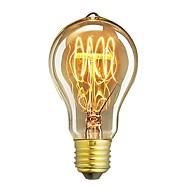 1pcs a19 60w e27 žarulja privjesak berba edison svjetlo žarulja cafe dekor svjetlost ac220-240v