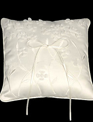 Wedding Ring Pillow With Vivid Little Flowers