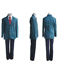 uniforme escolar japonês traje cosplay menino inspirado haruhi suzumiya