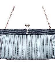 Gorgeous Silk Evening Bag Handbag Purse Clutch (0753). More Colors Available
