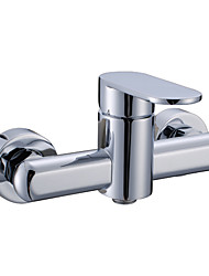 Contemporary Brass Tub Shower Faucet (without Hand Shower)