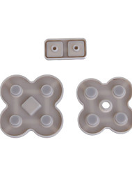 sostituzione pad pulsanti conduttivi per NDS Lite (3 pezzi)