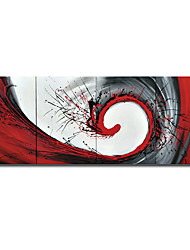 Handmade Abstract Painting Stretched Ready to Hang (0695 -AB-379)