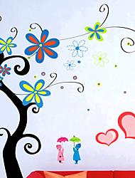 Stylish Flower Wall Sticker (0732 -XM-JJ-014)