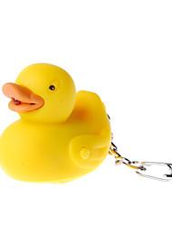 ducky keychain levou lanterna pato (2 pacotes)