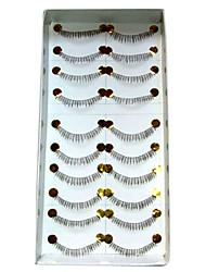 Fashion Lower, Bottom Lashes 020# - 10 Pairs Per Box